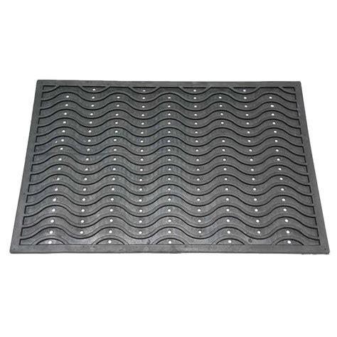 rubber door mats dura scraper wave rubber door mat