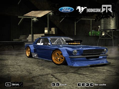 speed  wanted ford mustang hoonicorn rtr