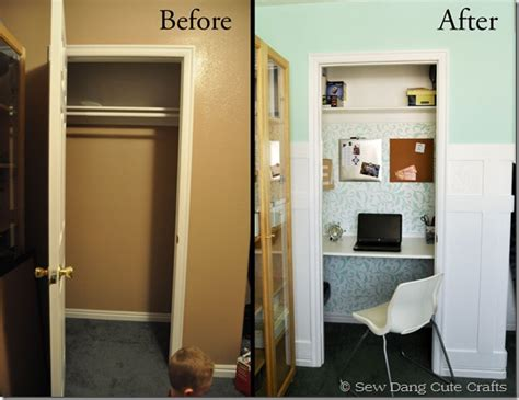 Turning A Closet Into An Office by Bhg Style Spotters