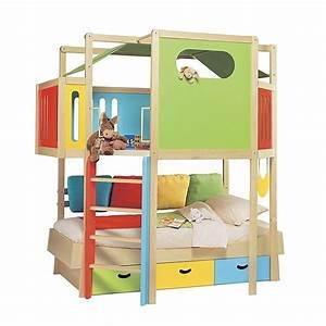 Lit Cabane Pour Enfant : lit cabane enfant offres juin clasf ~ Teatrodelosmanantiales.com Idées de Décoration