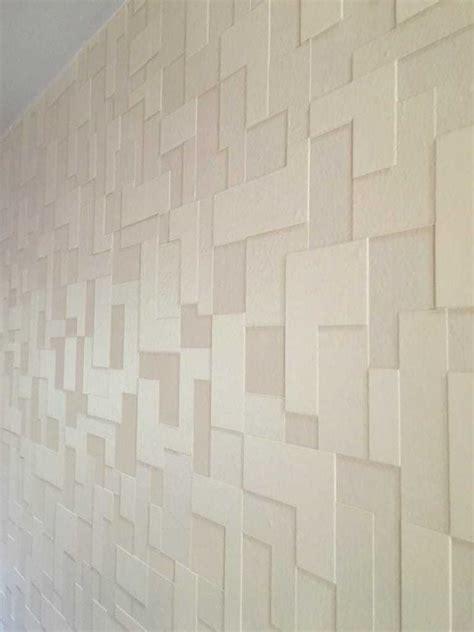 textured wallpaper accent wall master bedroom update