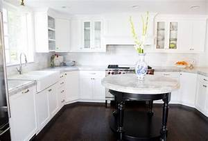 super white quartzite transitional kitchen white With what kind of paint to use on kitchen cabinets for circular stickers