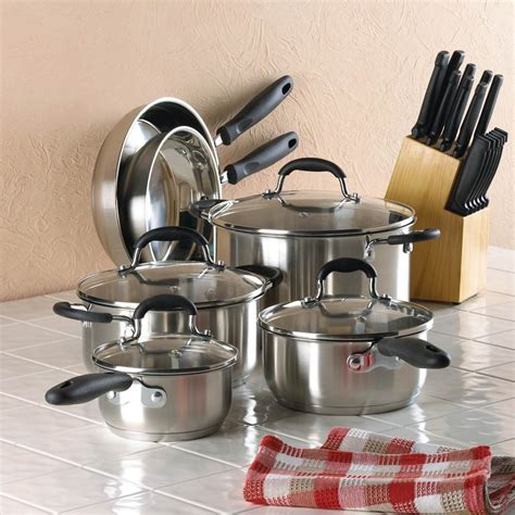 cookware beginner iron cast gourmet pan everything deluxe whether chef stainless steel tophatter