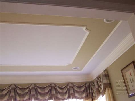 Tray Ceiling Trim Ideas by I Like This Tray Idea It Doesn T Even To Be A Real