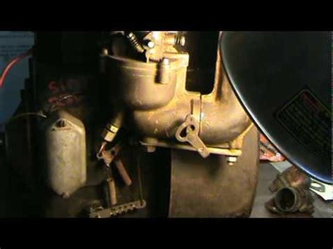 cast iron briggs and stratton flo jet carb rebuild part 2