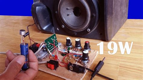 simple amplifier  ic la