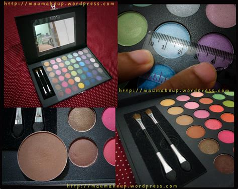 Harga Pac Eyeshadow Palette 48 Color merilla may s review complete swatches eotd
