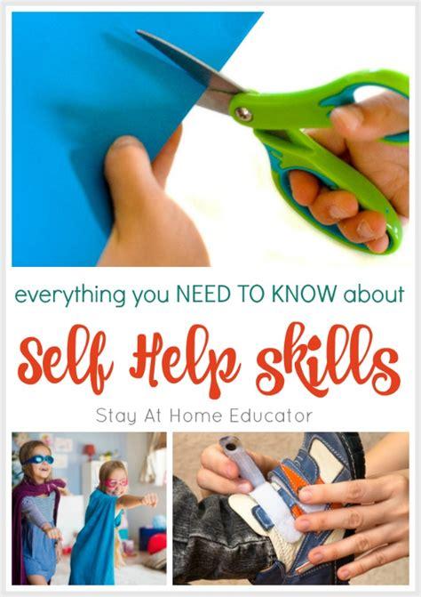 developmental skills for preschoolers and activities to 871 | Self Help Skills Collage