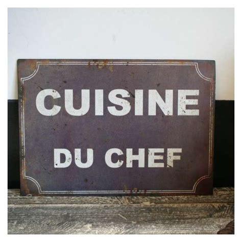 plaque pour cuisine plaque métal rétro décoration cuisine vintage antic line