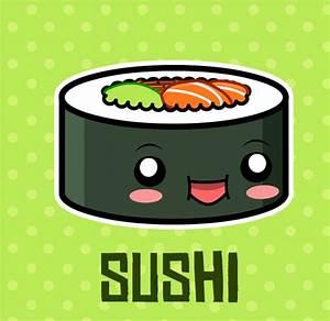 Kawaii sushi | World Kwaii | Pinterest | Kawaii, Drawings ...
