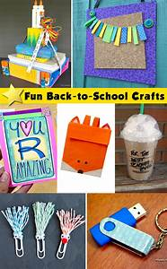 Back to School Craft Projects - Morena's Corner