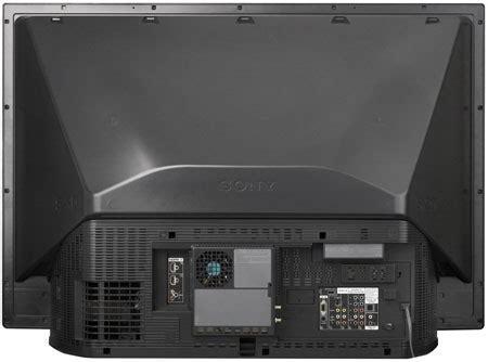 "Sony A Series 60"" Diagonal Grand WEGA SXRD Rear"