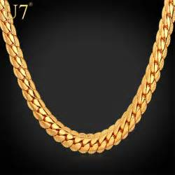 Real Gold Necklace Chains Men