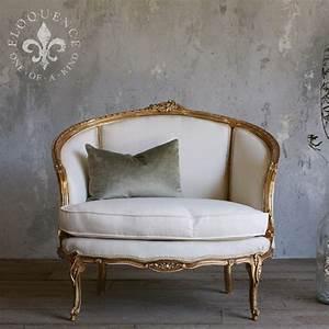 Vintage Wohnzimmer Möbel : vintage petite gilt settee antik pinterest m bel wohnzimmer und rund ums haus ~ Frokenaadalensverden.com Haus und Dekorationen