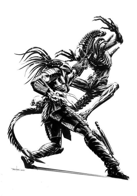 Xenomorph | Predator, Alien vs predator, Predator artwork