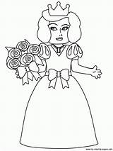 Coloring Pages Bride Princess Popular Coloringpages101 Others Coloringhome sketch template