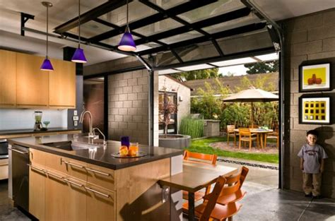 garage into kitchen wyoming residence rustic patio other metro by locati turn garage into living space cardkeeper co