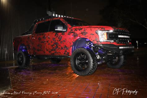 planet fords ekstensive metal truck  party