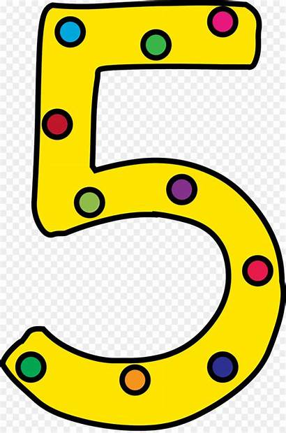 Number Clipart Clip Yellow Icon Text Transparent
