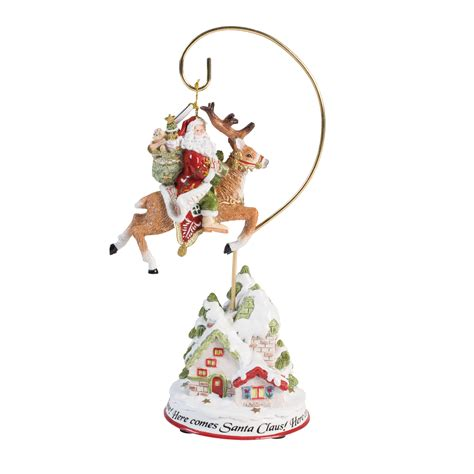 fitz and floyd damask holiday 2016 dated ornament with