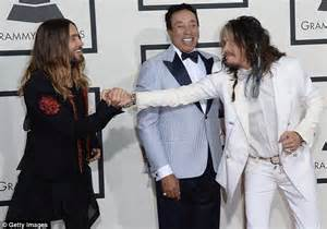 Steven Tyler And Jared Leto Compare Long Flowing Locks On