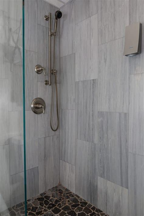 image result  vertical running wall tile shower