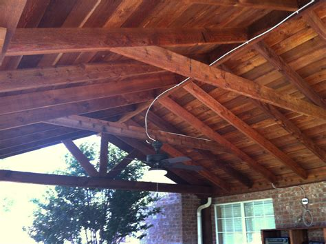 large backyard patio cover with ceiling fans alstyne