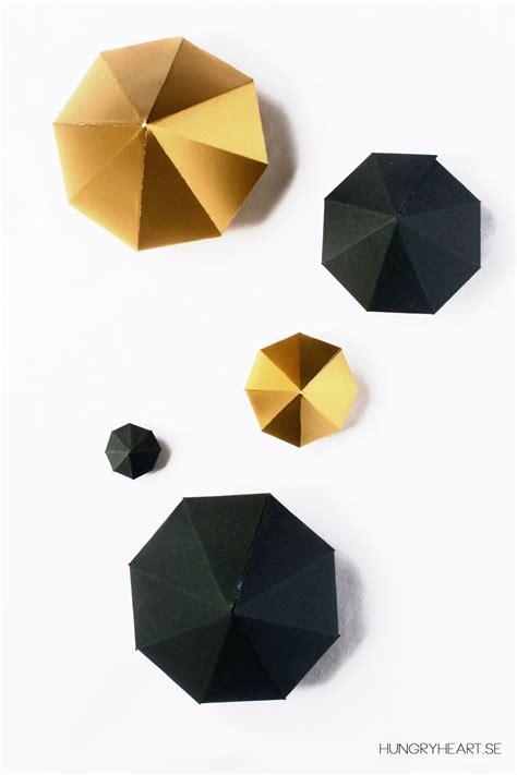 diy paper diamond tutorial   template hungry heart