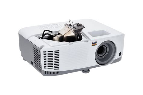 proyektor view sonic pa500s 3600 ansi lumen svga dlp projector for small spaces