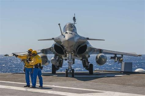 dassault rafale marine of the marine nationale aboard the port avion aircraft carrier
