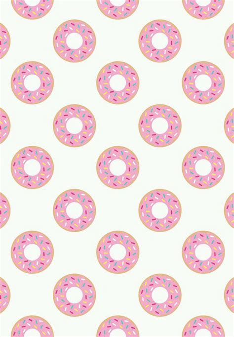 Doughnut Background Donuts Background