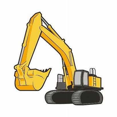 Excavator Clip Clipart Shirt Thatshirt Equipment Heavy