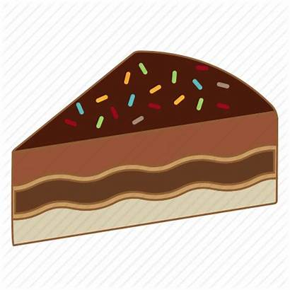 Cheesecake Vector Icon Cake Chocolate Bakery Dessert