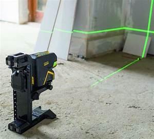 Niveau Laser Plaquiste : niveau laser croix cinq points faisceau vert batiproduits ~ Premium-room.com Idées de Décoration