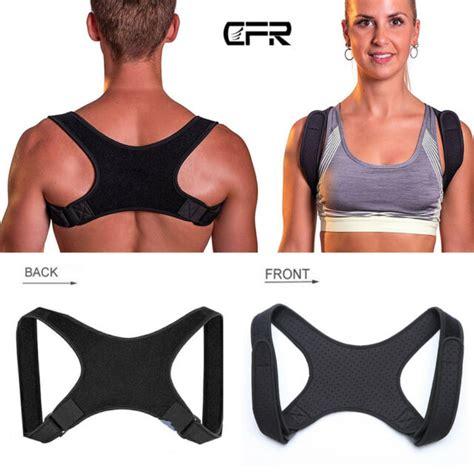 Posture Corrector Shoulder Back Clavicle Support Brace ...