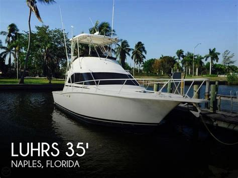 Sport Fishing Boat For Sale In Florida by Canceled Luhrs Tournament 350 Boat In Naples Fl 108520