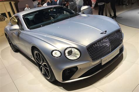 new bentley new 2018 bentley continental gt goes on display in