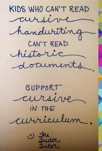 9 Reasons To Teach Kids Cursive Writing In Homeschool