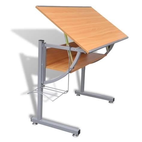 bureau inclinable bureau table a dessin inclinable achat vente bureau