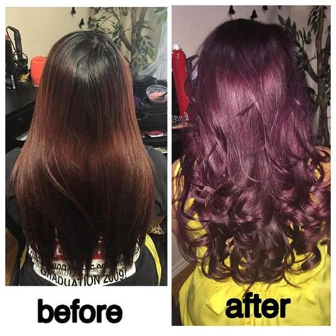Hair Dye Colours For Hair by Eggplant Purple Hair Color Hair Colar And Cut Style