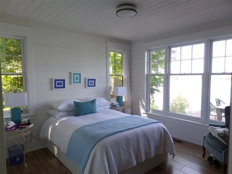 cottage beach style bedroom toronto  ridley