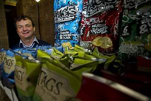 Tags crisps boss prompts Sainsbury after Dragons' investment