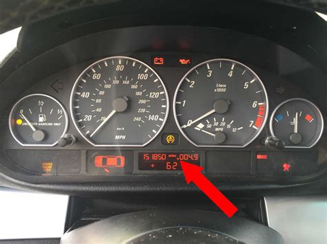 Bmw Mileage by Bmw E46 Mileage Ter Indicator Bimmertips
