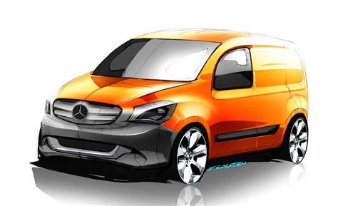 Мерседес ситан mercedes citan рено кенгу renault kangoo пассажир 2015. All-Electric Mercedes Isn't What You Think: It's A Small Van
