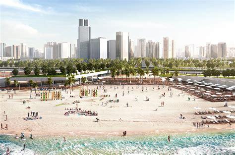 Corniche Abu Dhabi Abu Dhabi Corniche Abu Dhabi Uae Martha Schwartz