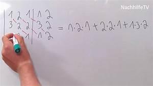 Eigenvektoren Berechnen 3x3 : berechnung einer 3x3 determinante regel von sarrus youtube ~ Themetempest.com Abrechnung