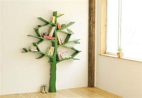 tree bookshelves bookcases kids and baby design ideas