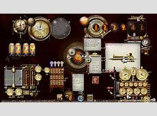 Steampunk Theme Windows 10 Desktop by yereverluvinuncleber