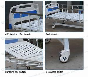 Sk031 2 Cranks Manual Medical Hospital Bed For Sale