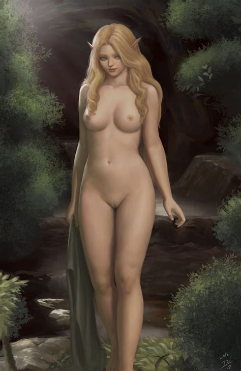Elf Nude By On Deviantart More